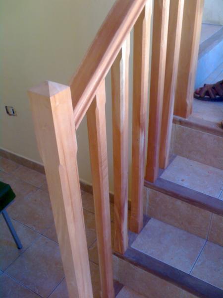 Barandas en forja para escalera pictures - Baranda de madera ...